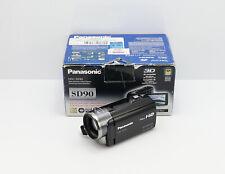 PANASONIC HDC-SD90 CAMCORDER BOXED SDHC CARD HD DIGITAL HIGH DEFINITION VIDEO