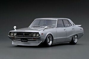 Ignition Model IG1978 Nissan Skyline 2000 GT-X (GC110) Silver Limited 100 units