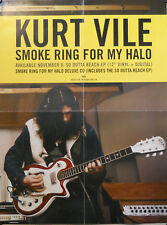 KURT VILE, SO OUTTA REACH/SMOKE RING FOR MY HALO POSTER (M9)