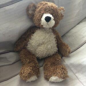 "Jellycat Teddy Bear Plush Stuffed Animal Cream Tan 15"""