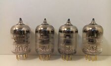 Gold Plated Pins 4x 6J9P (6Ж9П)/E180F/6688 vacuum tubes same date NOS