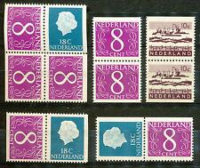 Nederland alle combinaties uit boekje  4 en 5 postfris