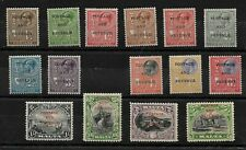 Malta, 1930 Postage and Revenue optd almost complete to 5/- LMM (8408)