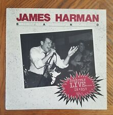 JAMES HARMAN BAND / STRICTLY LIVE IN '85! VOL. 1 ~ w/ Inner Sleeve ~ NEAR MINT