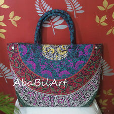 Handbag Indian Mandala Tote Shoulder Bag Cotton Women Satchel Purse Lady Style