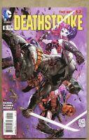 Deathstroke #5-2015 nm 9.4 Standard Cover / Harley Quinn New 52 Batman