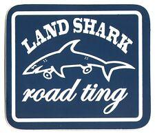 Land Shark vêtements Road Ting Skateboard Autocollant - 8.5 Cm Large-Bleu Skate