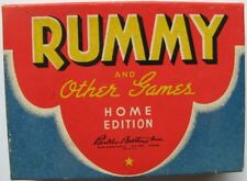 Rummy and Other Games Home Edition, Parker Bros 1942