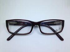 ray-ban RB5078 optische Brille Frau bordeaux Dunkelheit Frau rechteckige Brille