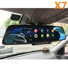 "6.86"" Dual Lens Car GPS DVR GPS Navigation Rearview Mirror Camera 1080P Dash Cam"