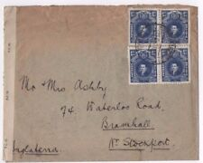 BOLIVIA STAMPS & POSTMARK ON COVER / ENVELOPE USED 1944 CENTRAL SOUTH AMERICA