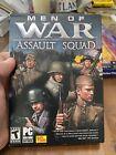 Men Of War Assault Squad Pc Dvd-rom 2011 World Ii 2 Computer Game-mip- Unopened!