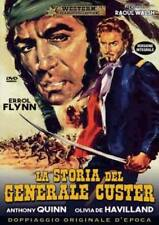 LA STORIA DEL GENERALE CUSTER  DVD WESTERN