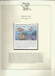 81593/ Dinosaurier Fauna Tiere ** MNH OHNE VORDRUCK TRISTAN