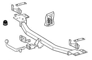 Brink Towbar for Volvo 850 Estate 1992-1997 - Detachable Tow Bar