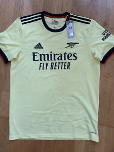 Arsenal X Adidas Football Club 21/22 Away Shirt Mens Size L