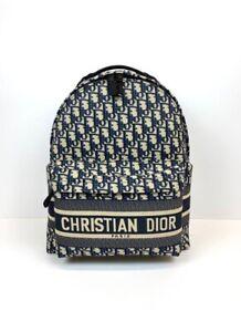 Dior Oblique Travel Jacquard Backpack M6104STZQ_M928