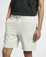 Nike Sportswear Tech Fleece Shorts Mens Oatmeal Heather Active Wear 928513-141