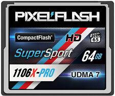 64GB CF 1106X Compact Flash Memory Card CANON NIKON VPG-65 1066X 1000X