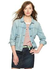 GAP WOMENS 1969 DENIM DROP POCKET JACKET ORG. $69.99 SIZE MEDIUM BNWT