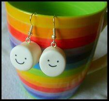 ** Marshmallow earrings - hand made CWACOM2 **