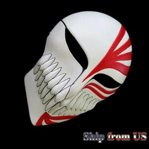 Bleach Ichigo Kurosaki Anime Resin Mask Halloween Cosplay Costume Party Props