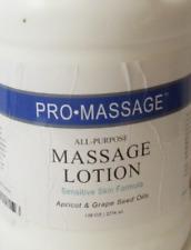 Pro Massage All Purpose Massage Lotion 128 oz. - Gallon, new, free ship!..se