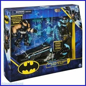 "DC Batman Vs Bane 4"" Action Figure Playset with Moto-Tank Vehicle & Accessories"