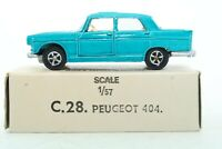"""Lone Star Roadmasters """"Impy"""" Flyers Super Cars Peugeot 404 - England"""