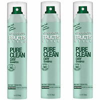 Pack of (3) New Garnier Pure Clean Dry Shampoo, 3.4 Ounce