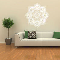 Bohemian Mandala Flower Indian Art Wall Stickers Decal Mural Home Vinyl Family