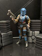 "Star Wars Custom 6"" Black Series Mandalorian Female Death Watch Action Figure"