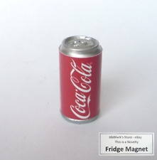 """COCA COLA Can Limited Edition FRIDGE MAGNET Novelty Indonesia 1.25"""" Acrylic Coke"""
