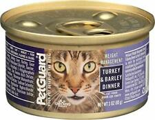 Petguard Cat Food Weight Management Turkey & Barley Dinner 3 Oz. Can