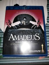 Amadeus Blu-ray Bluray 2009, Director's Cut Complete Rare Oop Flawless (1984)