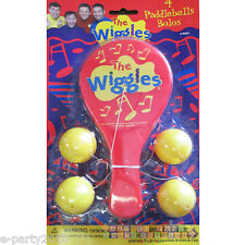 WIGGLES PADDLEBALLS (4ct) ~ Birthday Party Supplies Favors Toys Disney