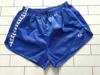 MENS VINTAGE RETRO BLUE SPRINTER OLD SCHOOL HIGH CUT SHORTS SIZE L/XL (120)