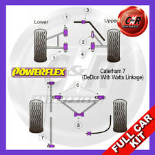 Caterham 7 (DeDion With Watts Linkage) To 96 Powerflex Complete Bush Kit