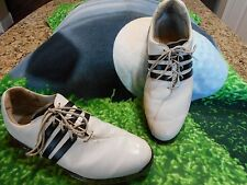 Adidas Adipure Traxion Clima Mens Golf Shoes White & Black Size 9.5 M USA L@@K
