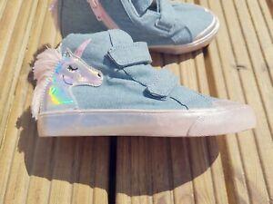 Girls Boots Booties Shoes Unicorn Denim *Brand New* Sizes 5 6 7 8 9 10 11 12