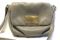 Marc by Marc Jacobs Standard Supply Taupe Pebbled Leather Small Crossbody Bag
