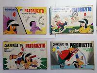 Lote 4 historietas Patoruzito comic argentino. Coleccion