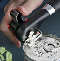 Stainless Safety Side Cut Manual Can Opener & Adjustable Jar Lid Bottle opener