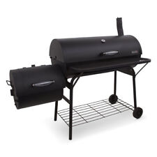 Large Charcoal Grill Outdoor Portable Barbecue Offset Smoker BBQ Camp Grilling