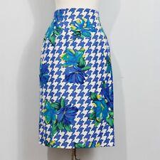 August Silk Diane Gilman Houndstooth Skirt