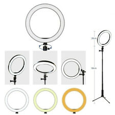 """10"""" LED Light Ring w/Stand Mount Kit & Selfie Stick For Live Broadcast Streaming"""