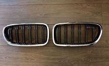 Original BMW 5er F10 F11 M5 LCI doppelt Nieren Ziergitter NEU Mpaket M Paket