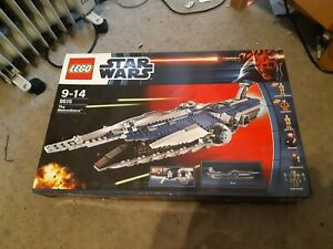 Lego Star Wars The Clone Wars The Malevolence 9515 with box and Instructions