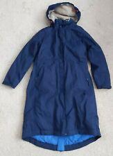 Seasalt Janelle Rain Coat waterproof coat size 16 blue Very Good Used condition