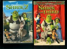 Shrek 1 and 2 and 3 Dvd -Good